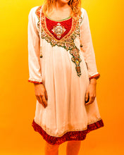 Load image into Gallery viewer, Indian Embellished Dress - The Bearded Gypsy Vintage Co.