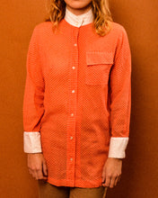 Load image into Gallery viewer, Josette Coral Shirt - The Bearded Gypsy Vintage Co.