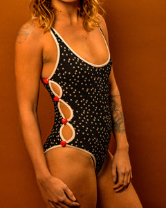 RARE Moshino Love 80's Swim Suit - The Bearded Gypsy Vintage Co.