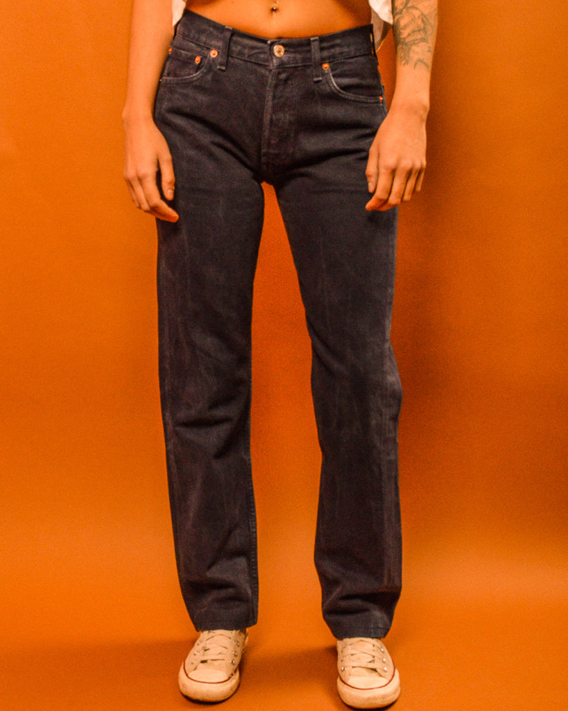 Navy Levi's 501 - The Bearded Gypsy Vintage Co.