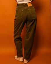 Load image into Gallery viewer, High Waist Khaki Jeans