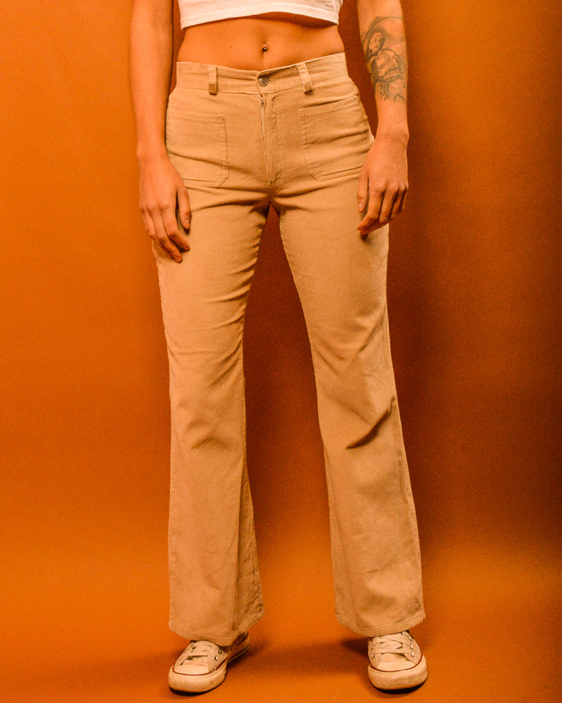 Joni Corduroy Flares - The Bearded Gypsy Vintage Co.
