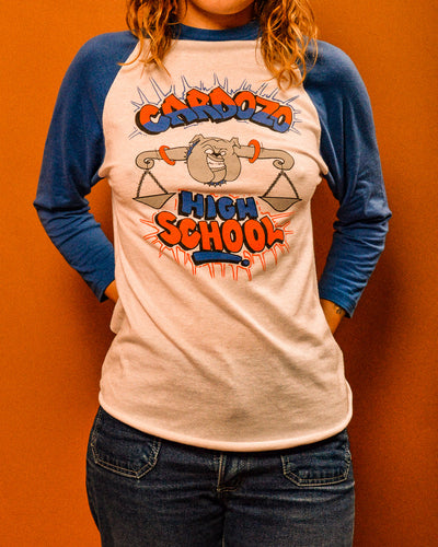 Bulldog Baseball Tee - The Bearded Gypsy Vintage Co.