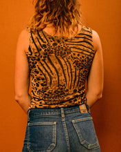 Load image into Gallery viewer, Wild Thing Lepoard Print Top - The Bearded Gypsy Vintage Co.