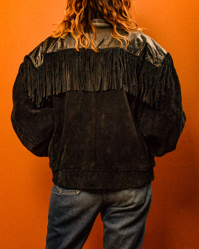 Hillbilly Suede Tassle Jacket - The Bearded Gypsy Vintage Co.
