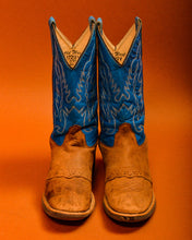 Load image into Gallery viewer, Vintage Turquoise Cowboy Boots - The Bearded Gypsy Vintage Co.
