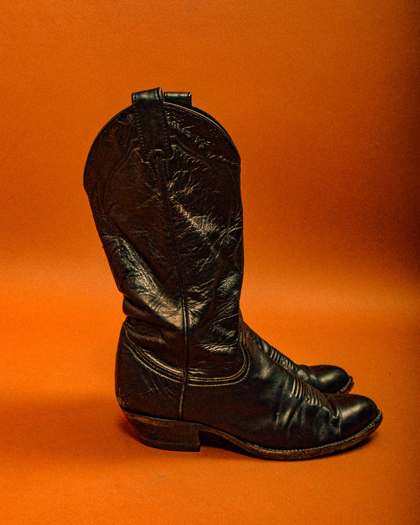 Larry Mahon Cowboy Boots - The Bearded Gypsy Vintage Co.