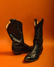 Load image into Gallery viewer, Larry Mahon Cowboy Boots - The Bearded Gypsy Vintage Co.