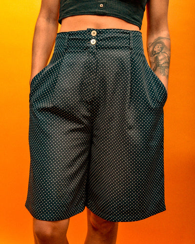 Super High Polka Dot Shorts - The Bearded Gypsy Vintage Co.