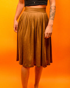 Gold Skirt - The Bearded Gypsy Vintage Co.