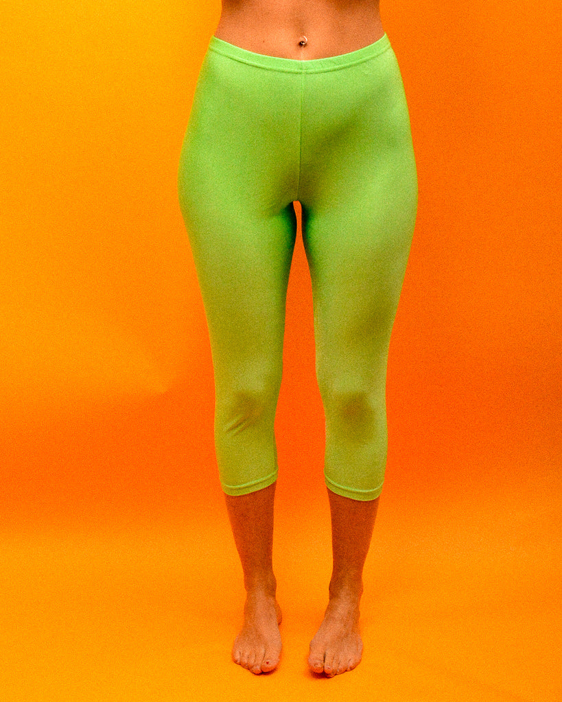 Lime in the coconut Leggings - The Bearded Gypsy Vintage Co.