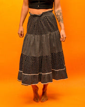 Load image into Gallery viewer, Polka dot Senorita Skirt - The Bearded Gypsy Vintage Co.