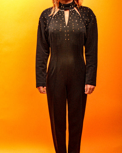 Studded Toronto Jumpsuit - The Bearded Gypsy Vintage Co.