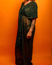 Load image into Gallery viewer, Mamma Moon Tiger Print glitter dress - The Bearded Gypsy Vintage Co.