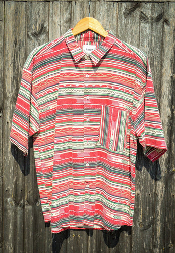Aztec Short Sleeve Shirt - The Bearded Gypsy Vintage Co.
