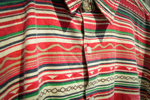 Load image into Gallery viewer, Aztec Short Sleeve Shirt - The Bearded Gypsy Vintage Co.