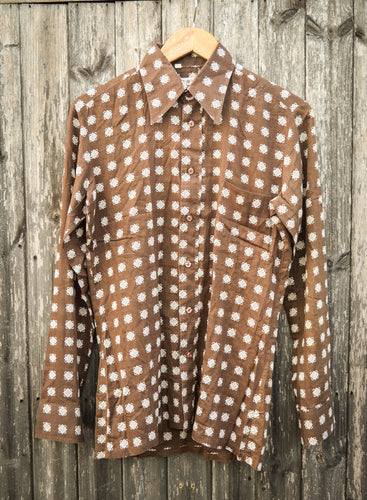 Paper Thin 70's Disco Shirt - The Bearded Gypsy Vintage Co.