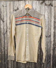 Load image into Gallery viewer, Thin Slim Fit 70's Collar Disco Shirt - The Bearded Gypsy Vintage Co.