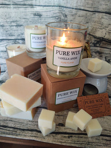 Pure Wix Eco Wax melt and burner gift pack - The Bearded Gypsy Vintage Co.