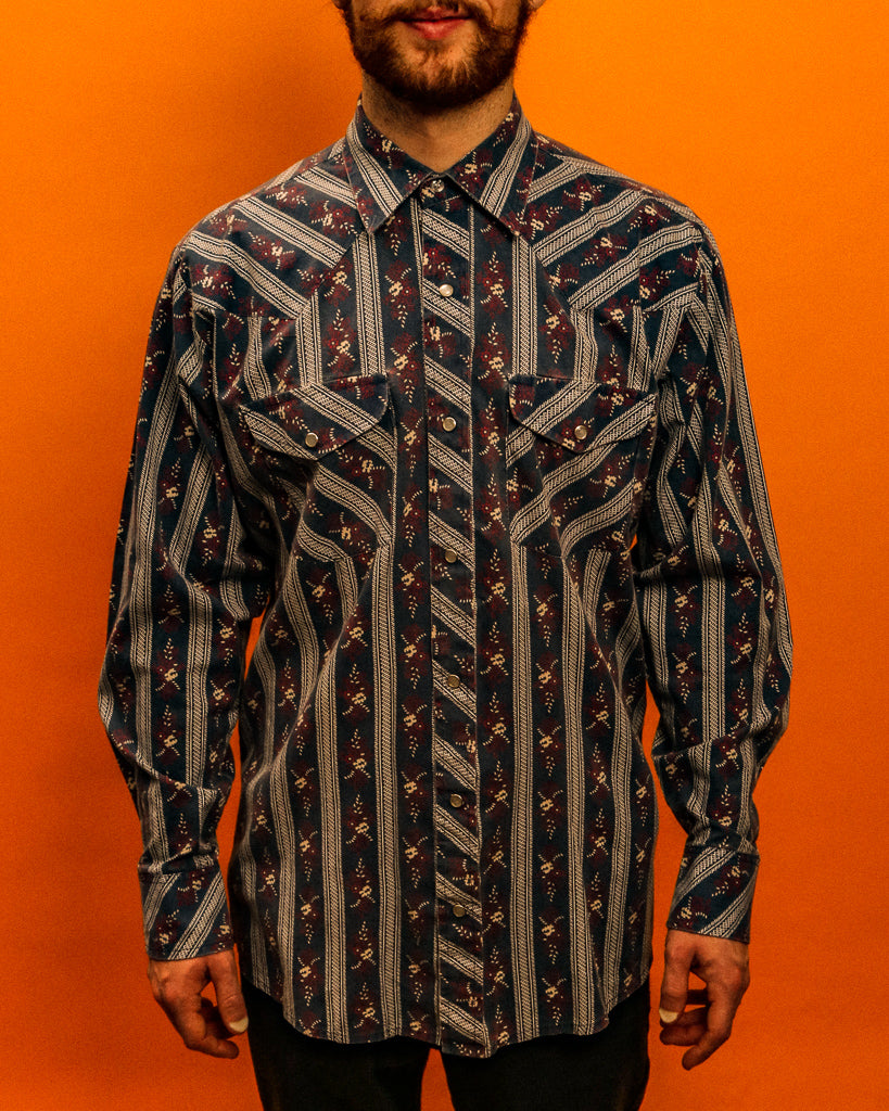 Kingsveliie western shirt - The Bearded Gypsy Vintage Co.