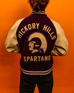 Hickory Hills Varsity Jacket - The Bearded Gypsy Vintage Co.
