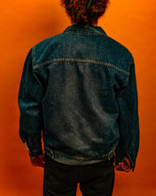Load image into Gallery viewer, Fleece lined sherpa denim jacket - The Bearded Gypsy Vintage Co.