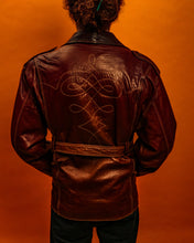 Load image into Gallery viewer, Soft lamb leather jacket - The Bearded Gypsy Vintage Co.