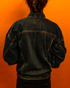 Lucky Star Denim Jacket - The Bearded Gypsy Vintage Co.