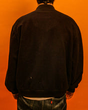 Load image into Gallery viewer, Navy mod bomber jacket - The Bearded Gypsy Vintage Co.