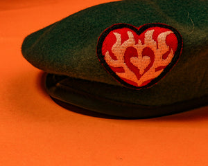 True vintage military  Beret - The Bearded Gypsy Vintage Co.