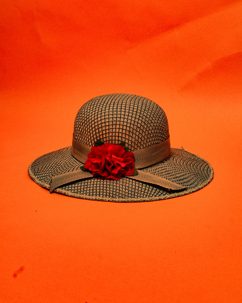Vintage 50's Summer Hat - The Bearded Gypsy Vintage Co.
