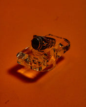 Load image into Gallery viewer, Black Opal Witch Ring - The Bearded Gypsy Vintage Co.