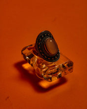 Load image into Gallery viewer, Scarlet Silver Ring - The Bearded Gypsy Vintage Co.