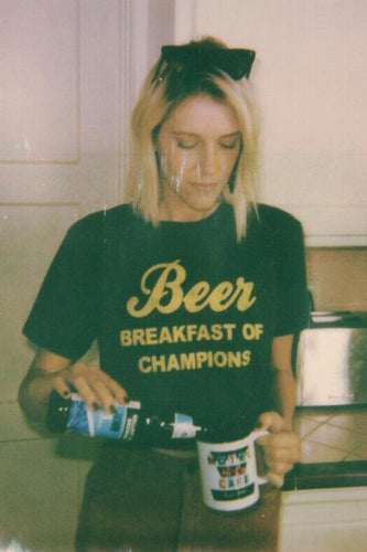 Breakfast of Champions Tee - The Bearded Gypsy Vintage Co.