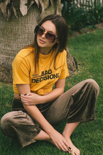 Busy Making Bad Decisions Tee - The Bearded Gypsy Vintage Co.