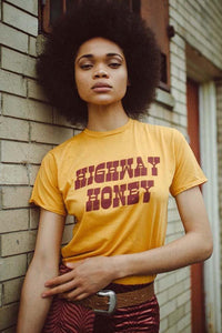 Highway Honey Tee - The Bearded Gypsy Vintage Co.