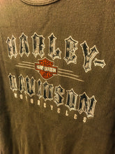Load image into Gallery viewer, Harley Davison Ribbed Vest - The Bearded Gypsy Vintage Co.