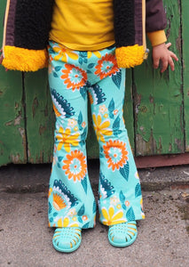 Groovy Baby Moromini Flare Pants - The Bearded Gypsy Vintage Co.