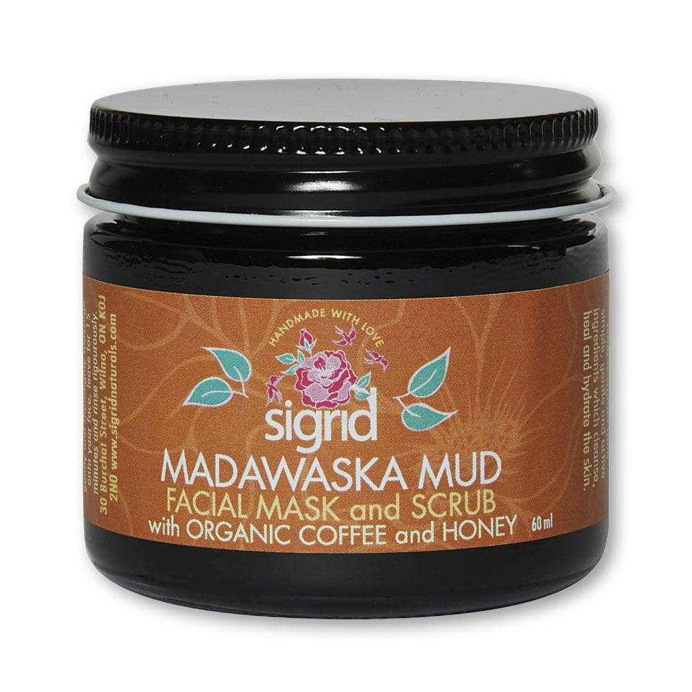 Madawaska Mud Facial Mask and Scrub