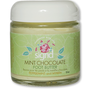 Mint Chocolate Foot Butter