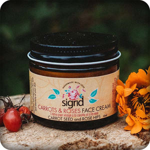 Carrots & Roses Face Cream