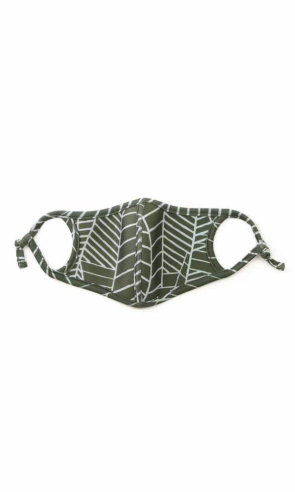 Spandex Face Mask With Trim