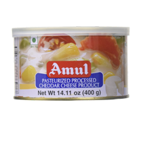 Amul Pasteurized Chedder Cheese Tin