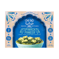Deep Frozen Curry Spinach Paneer