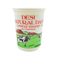 Desi Natural Dahi Low Fat Yogurt