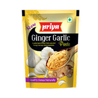 Priya Ginger Garlic Paste