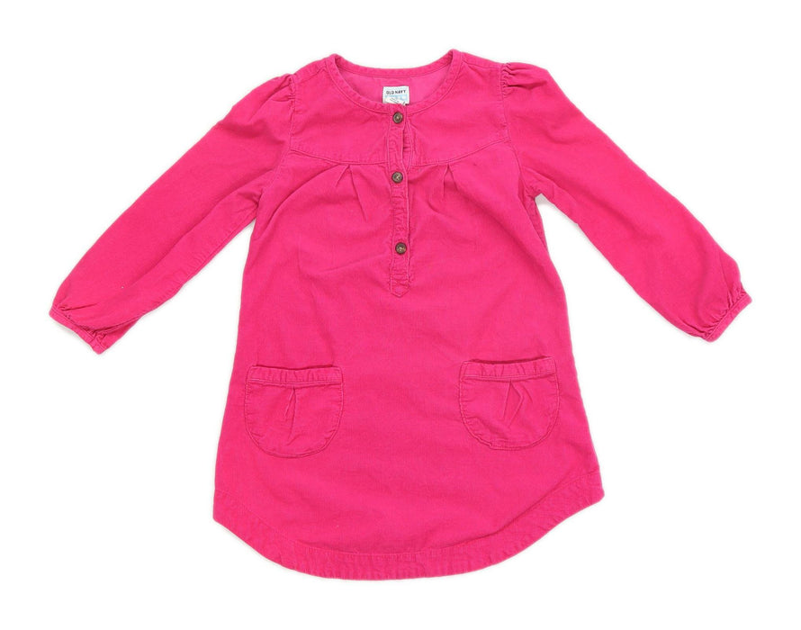 Old Navy Girls Pink Dress Age 5 Years