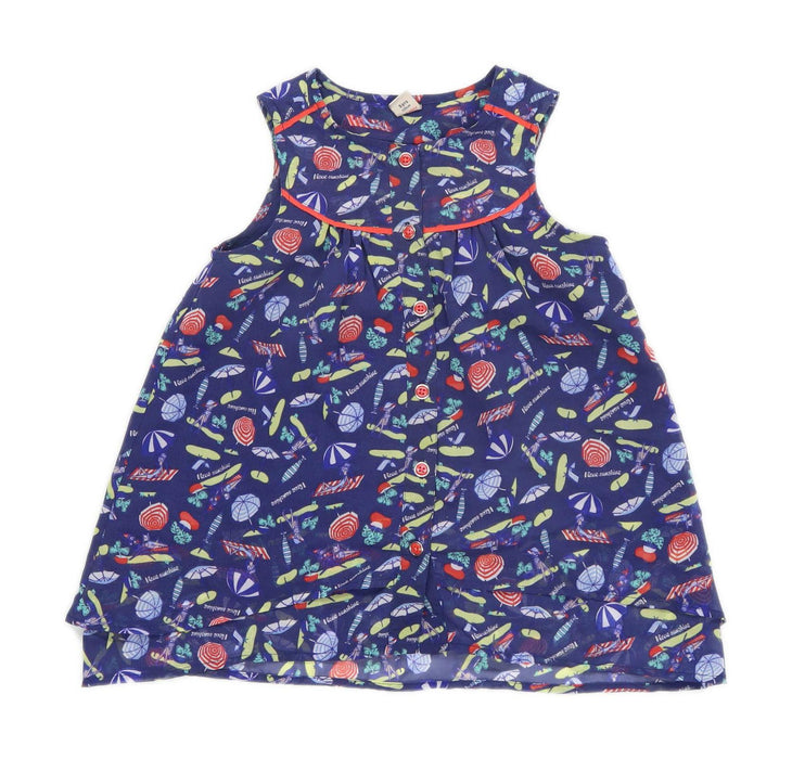 TU Girls Abstract Blue Dress Age 5 Years