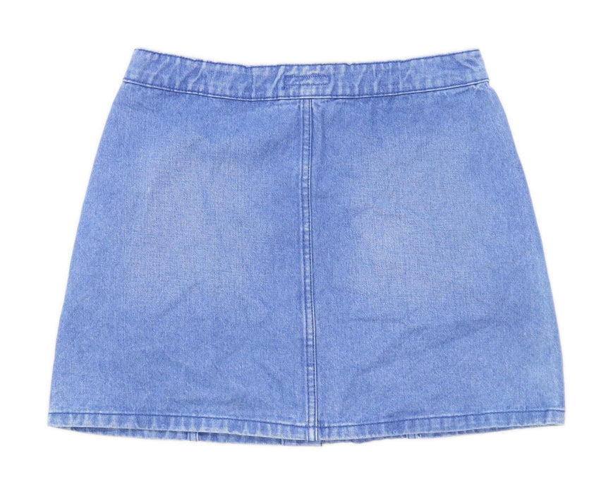 Denim Co Womens Size 12 Denim Blue Skirt (Regular)
