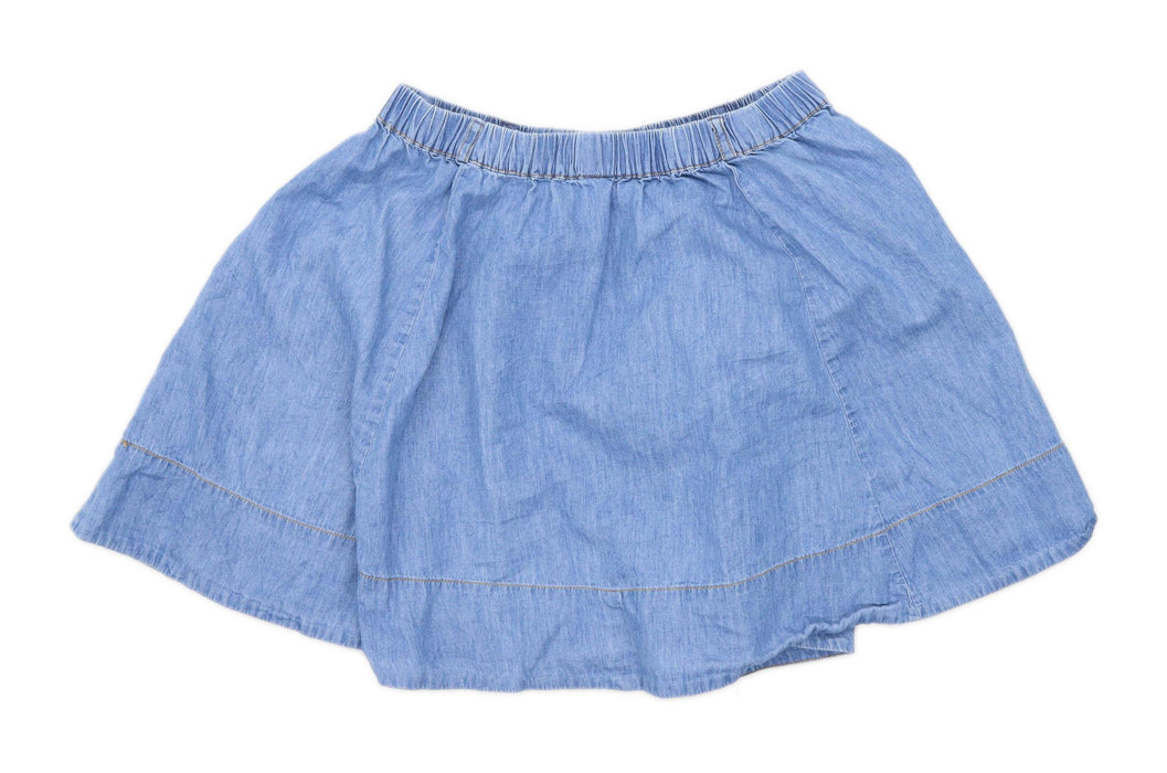Atmosphere Womens Size 8 Cotton Blue Skirt (Regular)